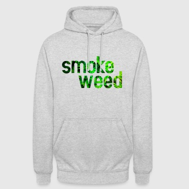 smoke weed - Sweat-shirt à capuche unisexe