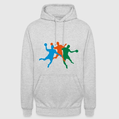 6254398 15791888 handball100 - Sweat-shirt à capuche unisexe