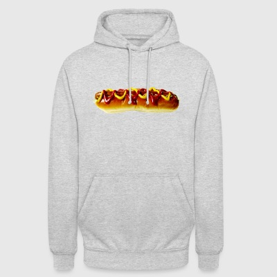 hotdog hot dog sausages fast food fastfood13 - Unisex Hoodie