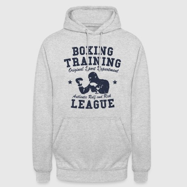 boxing training - Sweat-shirt à capuche unisexe