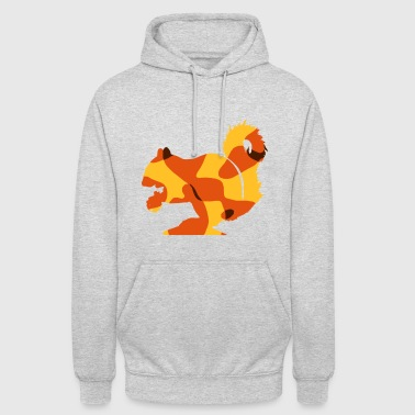 SQUIRREL / OAK GRAIN - CAMO / CAMOUFLAGE - Unisex Hoodie