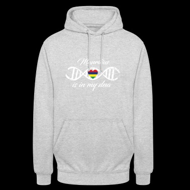 love my dna dns land country Mauritius - Unisex Hoodie