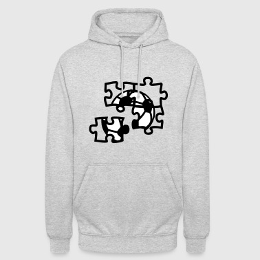 football ball soccer puzzle 2901 - Unisex Hoodie