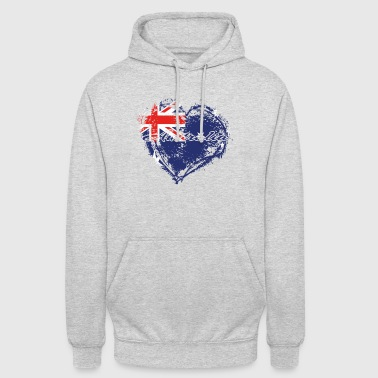 HOME COUNTRY ROOTS GIFT LOVE Australien - Luvtröja unisex