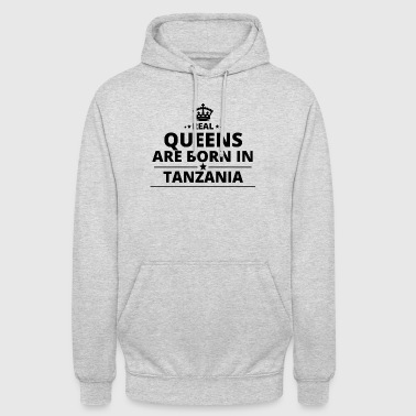 gift love queens are born TANZANIA - Unisex Hoodie