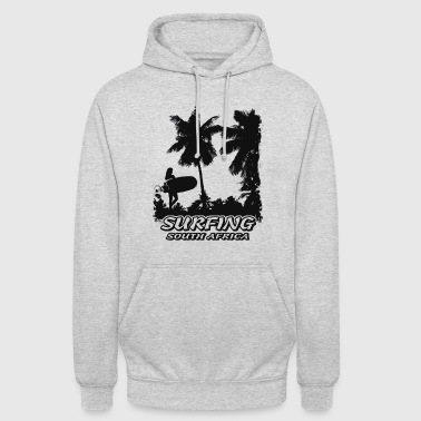 South Africa - Beach - Surfing - Surfer - Unisex Hoodie