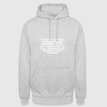 If You re LGBT and Worried White - Unisex Hoodie