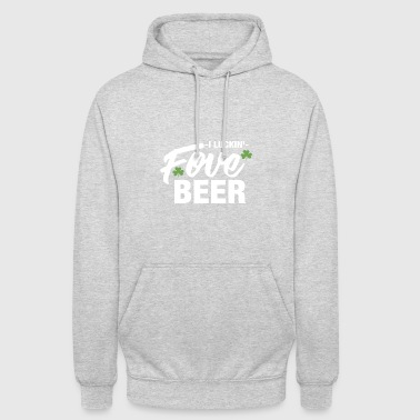 I fu ** in Love Beer - Gift - Bluza z kapturem typu unisex