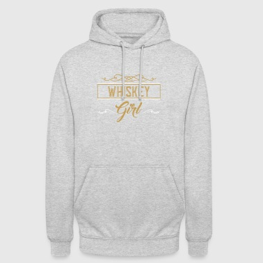 Whiskey T-Shirt - Whiskey - Scotch - Girl - Gifts - Unisex Hoodie