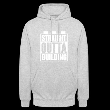 Building Block - Building Blocks - Building - Straight Outta - Unisex Hoodie