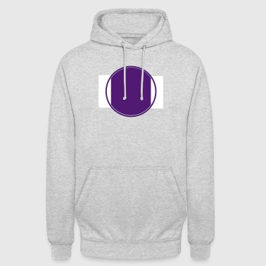 interrupted circles - Unisex Hoodie