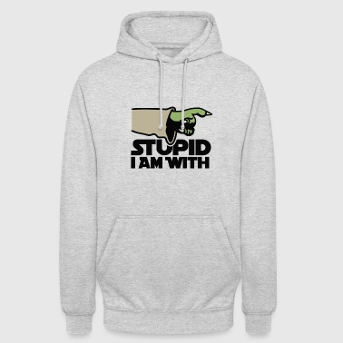 Stupid I am with FC - Unisex Hoodie