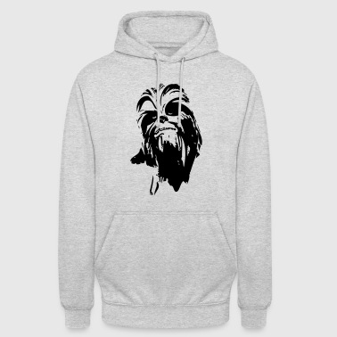 chewbacca monster fur hair star boyfriend - Unisex Hoodie