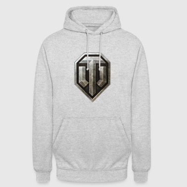 World of Tanks Logo - Bluza z kapturem typu unisex