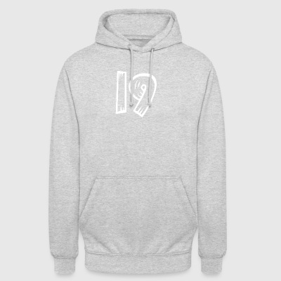 Number 19 Nineteen Nineteen wood optics HATRIK DESIGN - Unisex Hoodie