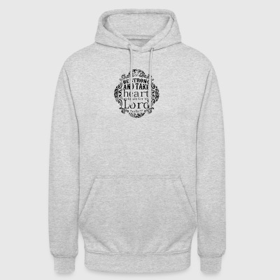 Be Strong and Waite The Lord - Unisex Hoodie
