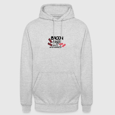 Bacon heals everything - Unisex Hoodie