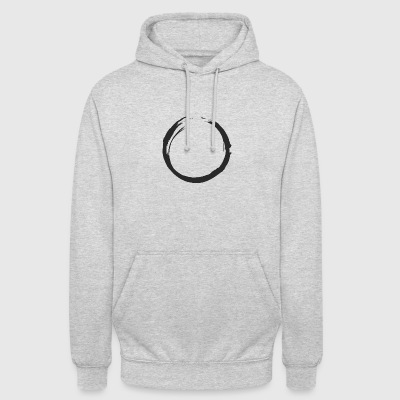 CIRCLE - Sweat-shirt à capuche unisexe