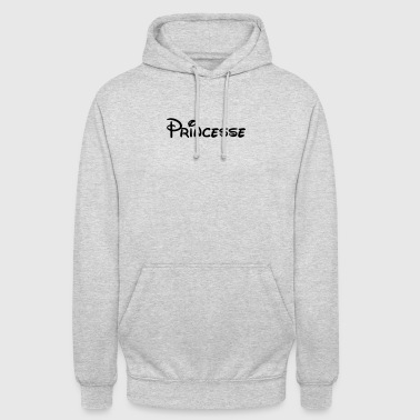 Princesse - Sweat-shirt à capuche unisexe