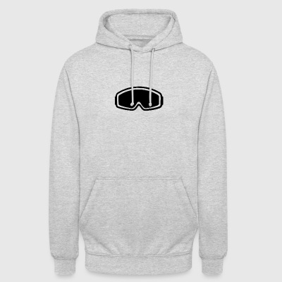 snowboard goggles - Unisex Hoodie