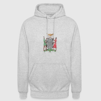 Coat of Arms Zambie Zambie Symbole - Sweat-shirt à capuche unisexe