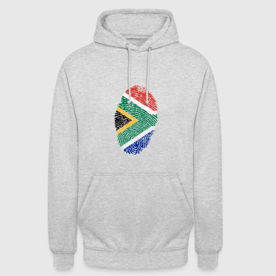 Fingerprint - South Africa - Unisex Hoodie