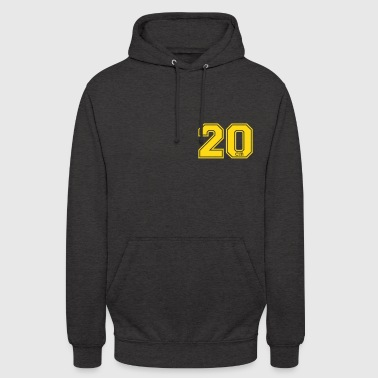 20 centimeter - Sweat-shirt à capuche unisexe