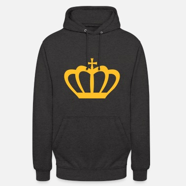 King Queen Crown Winner King Queen Princess - Unisex-hettegenser