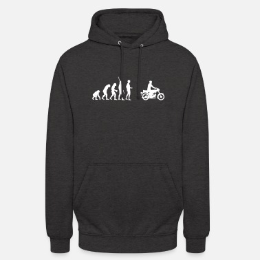 Moped Evolution Simson Moped - Unisex Hoodie