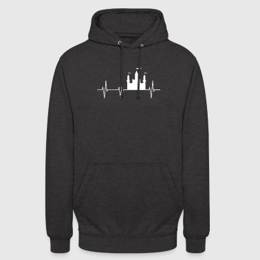 Fortress Castle funny fortress medieval - Unisex Hoodie