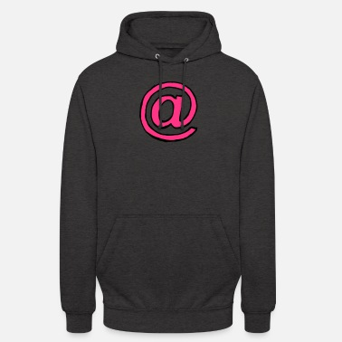 Miscellaneous Miscellaneous - At sign - sw - Unisex Hoodie