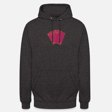 Miscellaneous Miscellaneous - Poker - Royalflash Heart - sw - Unisex Hoodie