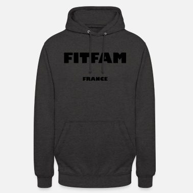Fitfam France - Sweat à capuche unisexe