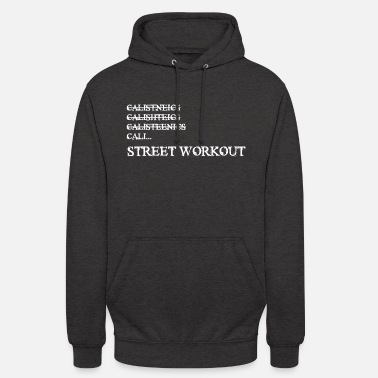 Workout gymnastiek - street workout - Unisex hoodie