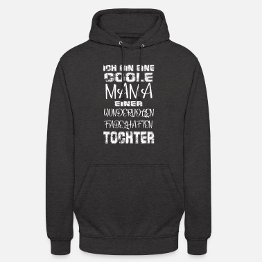 Cool Mom Daughter Gift Idea Mother's Day - Unisex Hoodie