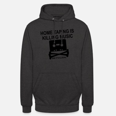 Music Piracy Personalize: Home Taping - Unisex Hoodie