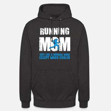 Running Funny Running Mom Jogging Cardio Run Runner Gift - Unisex Hoodie