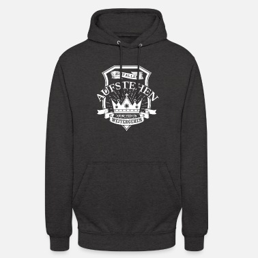 Fall, get up, check Crown, walk on - Unisex Hoodie