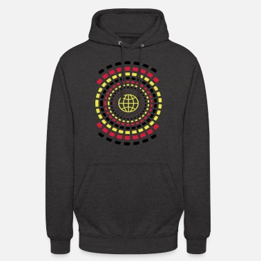 Neon Rings of Earth - Unisex Hoodie