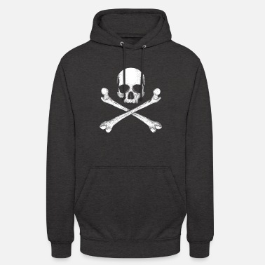 Jolly Roger - Drapeau Pirate Skull - Sweat à capuche unisexe