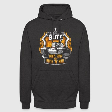 World Of Tanks Blitz Tanks Guns Rock'n'Roll - Unisex Hoodie