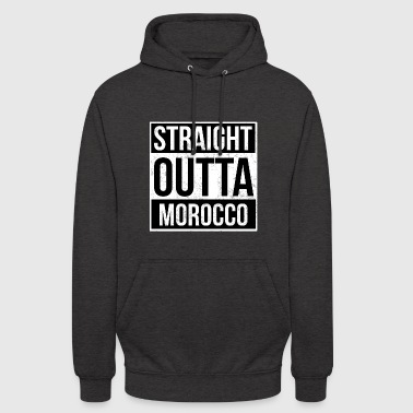 Straight Outta Morocco! | Best country - Unisex Hoodie