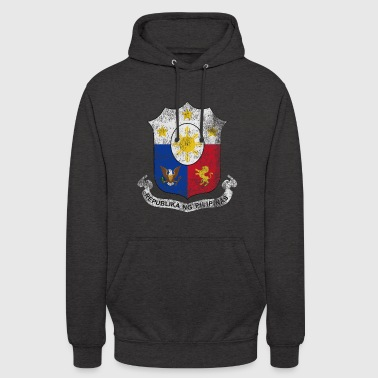 Filipino Coat of Arms Philippines Symbol - Unisex Hoodie
