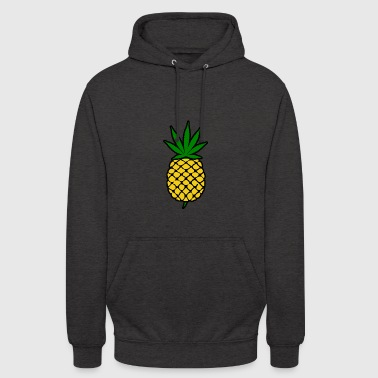 Pineapple Express Weed Leaf Design - Unisex Hoodie