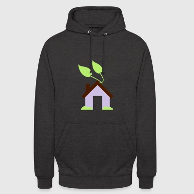 Green House Icon - Unisex Hoodie
