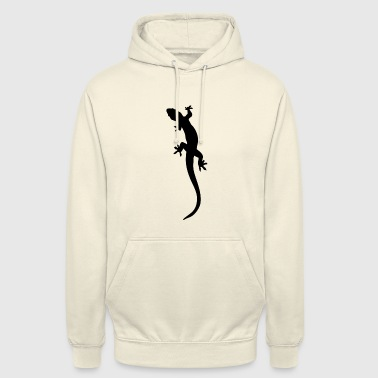 lézard - Sweat-shirt à capuche unisexe