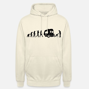 Wohnwagen happy_evolution_camper - Unisex Hoodie