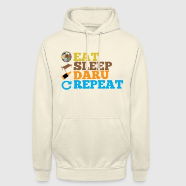 Desi EAT, SLEEP, DARU, REPEAT - Unisex Hoodie