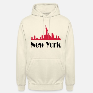 I Love New York New york - Sweat-shirt à capuche unisexe