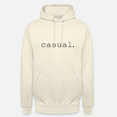 occasionnel. - Sweat-shirt à capuche unisexe